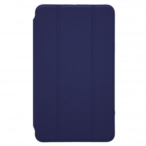 Trifold Θήκη Βιβλίο με Σιλικόνη Flip Cover Για Samsung Galaxy Tab E 9.6'' T560/T561 Μπλε