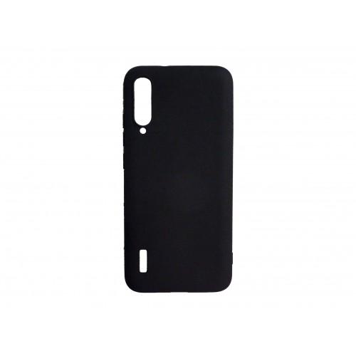 Θήκη Σιλικόνης matt Για Xiaomi Mi 9 Lite Μαυρο