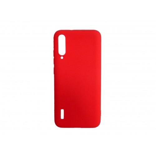 Θήκη Σιλικόνης matt Για Xiaomi Mi 9 Lite Κοκκινο