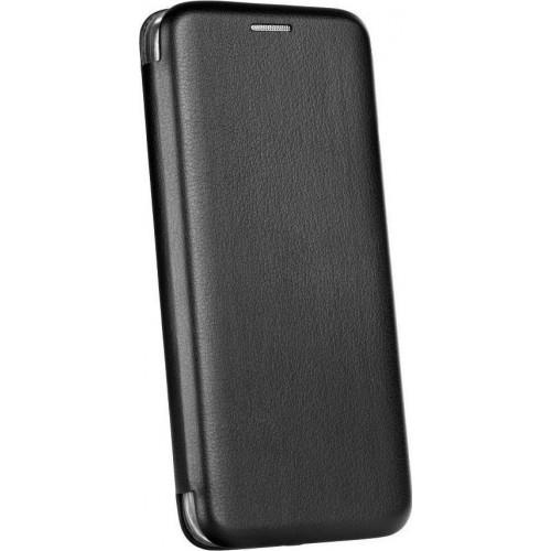 Θήκη Βιβλίο Smart Magnet Elegance για Xiaomi Mi 9 Lite Μαύρο