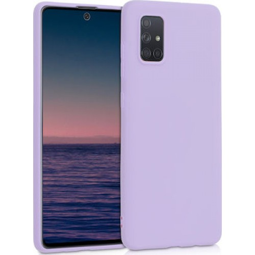 Back Cover Silicone Soft 2,0mm Για Huawei P Smart 2021 Μωβ Box