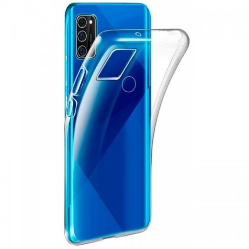 Oem Θήκη Σιλικόνης Για Samsung Galaxy S21 Ultra 5G Διάφανη