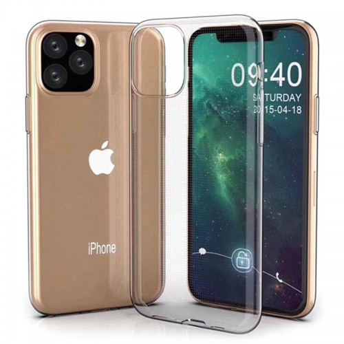 OEM Back Cover Silicone for APPLE IPHONE 11 PRO MAX Transparent