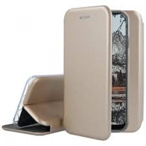 Oem Θήκη Βιβλίο Smart Magnet Elegance Για Xiaomi Mi 10T Lite Χρυσό