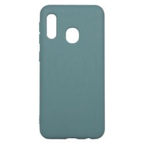 Soft Matt Case Gel TPU Cover 2.0mm Για Samsung Galaxy A10E / A20E Μπλε-Γκρι BOX
