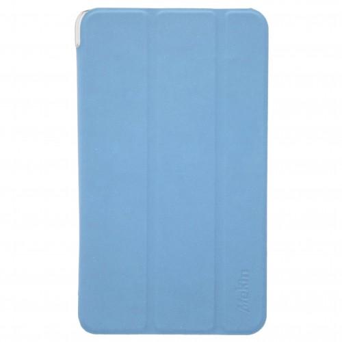 Trifold Θήκη Βιβλίο με Σιλικόνη Flip Cover Για Apple Ipad Mini 5 2019 Γαλάζια
