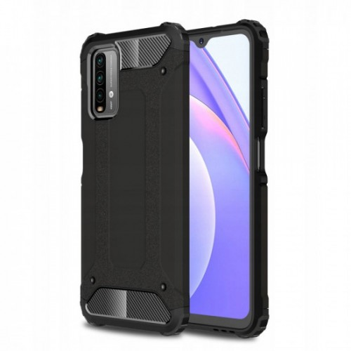 OEM Θήκη Armor Back Cover Για Xiaomi Redmi 9T / Poco M3 / 9 Power / Note 9 4G Μαύρο