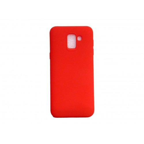 SOFT MATT CASE GEL TPU COVER 2.0 ΓΙΑ SAMSUNG GALAXY J6 2018 ΚΟΚΚΙΝΟ