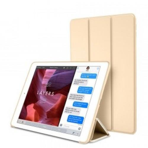 "OEM Θήκη Βιβλίο - Σιλικόνη Flip Cover Για Samsung Galaxy Tab A7 (2020) 10.4"" Χρυσή"