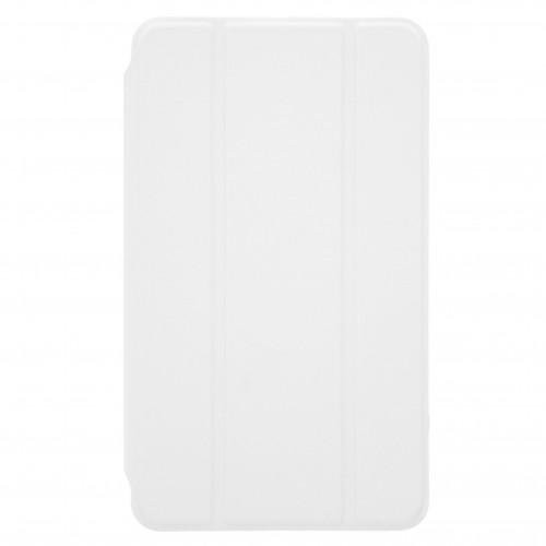 Trifold Θήκη Βιβλίο με Σιλικόνη Flip Cover Για Apple Ipad Air 10.5'' 2019 Λευκή