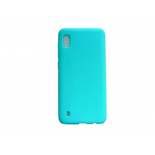 Oem Matt Silicone Case For Samsung Galaxy A10 Turquoise