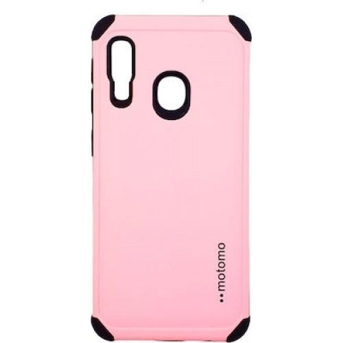 Θήκη motomo Back Cover Για Samsung Galaxy A20E ροζ