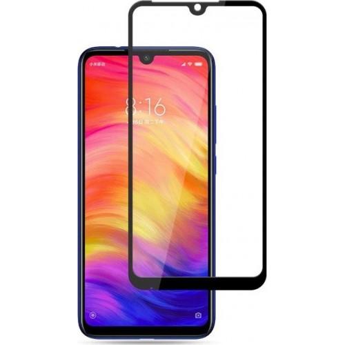 Full Face Tempered glass / Αντιχαρακτικό Γυαλί Oba Πλήρους Οθόνης 3D Για Xiaomi Redmi Note 7 / Note 7 Pro Μαύρο