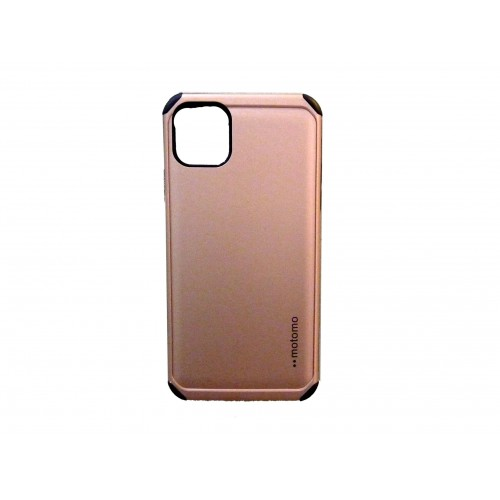 MOTOMO BACK COVER CASE FOR APPLE IPHONE 11 PRO MAX PINK GOLD