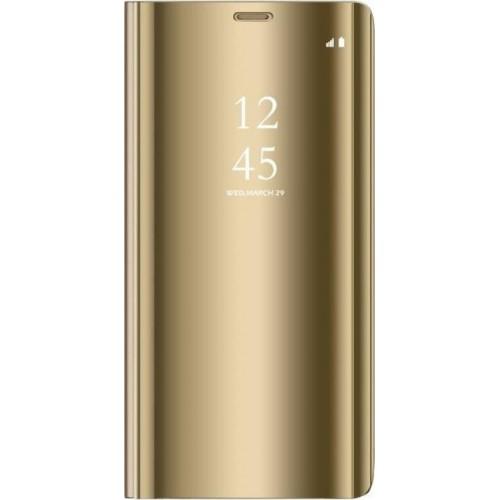 Θήκη Clear View Cover Για Huawei P30 Lite Χρυσή