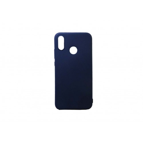 OEM Θήκη Σιλικόνης Για Huawei Honor 8X Μπλε Matt