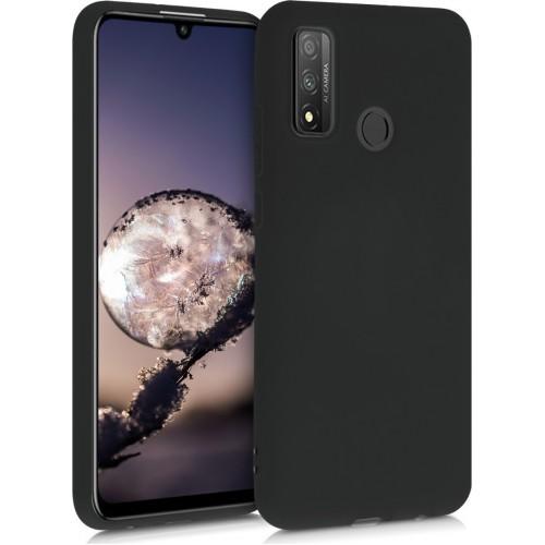 Oem Θήκη Σιλικόνης Matt Για Huawei P Smart 2020 Μαύρο