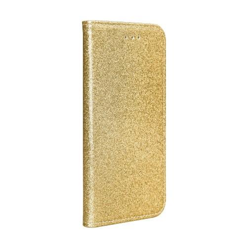 Θήκη Βιβλίο Shining Case Για Huawei P30 Lite Χρυσό