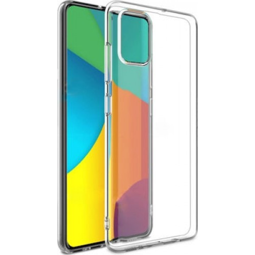 Oem Θήκη Σιλικόνης 1.5mm Για Samsung Galaxy A12 Διάφανη