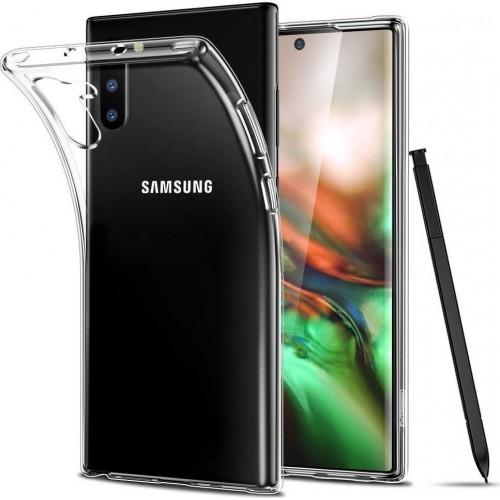 Oem Θήκη Σιλικόνης Για Samsung Galaxy Note 10 Lite / A81 Διάφανη