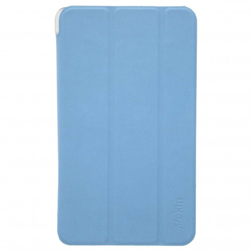 Trifold Silicone Book Flip Case Cover for Apple iPad 10.2'' 2019 Blue