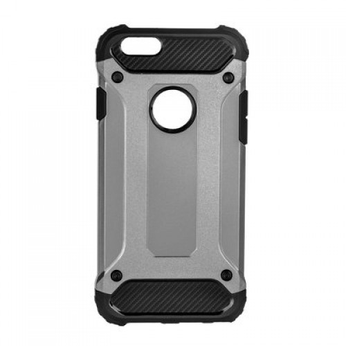 FORCELL ΘΗΚΗ ARMOR BACK COVER ΓΙΑ APPLE IPHONE 7/8 PLUS ΓΚΡΙ
