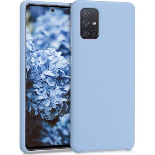 Oem Silicone Case Matt For Huawei P Smart 2021 Light Blue