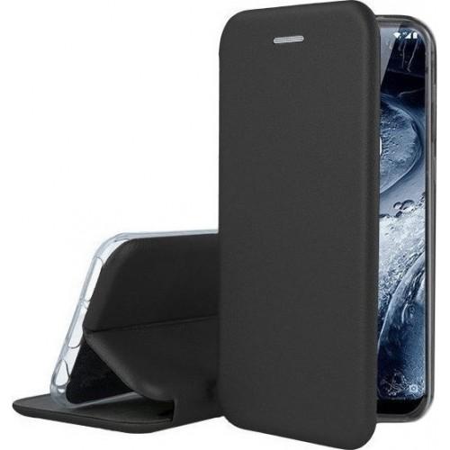 Oem Θήκη Βιβλίο Smart Magnet Elegance για Huawei Y5P 2020 Μαύρο