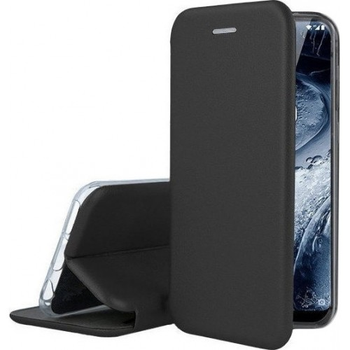 Oem Θήκη Βιβλίο Smart Magnet Elegance για Xiaomi Poco F2 / K30 Μαύρο