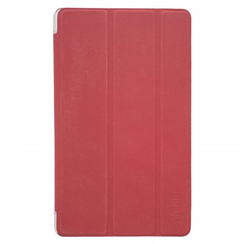Trifold Silicone Flip Cover for  Apple iPad 10.2'' 2019 Red