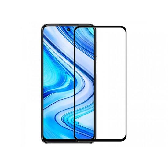 Oem Full Face Tempered glass / Αντιχαρακτικό Γυαλί Πλήρους Οθόνης 3D Για Xiaomi Redmi 9T / Poco M3 / 9 Power / Note 9 4G Μαύρο